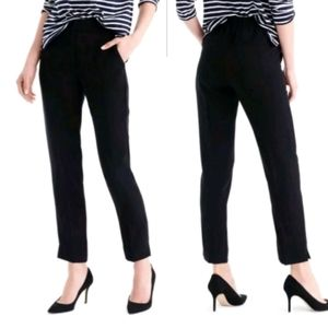 J Crew pull-on easy ankle pant in matte crepe